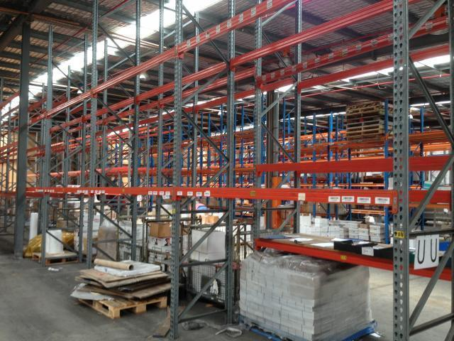 Genuine Brownbuilt Pallet Racking