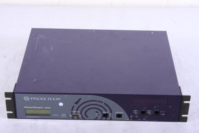 Packeteer Packetshaper 2500 Packeteer 2500 Series