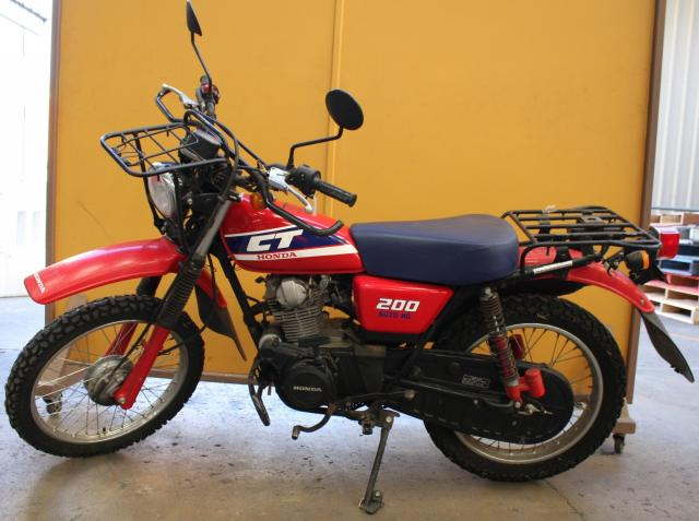 Honda CT200 Auto-AG Farm Bike- ALLBIDS Auctions 555740 | ALLBIDS.com.au