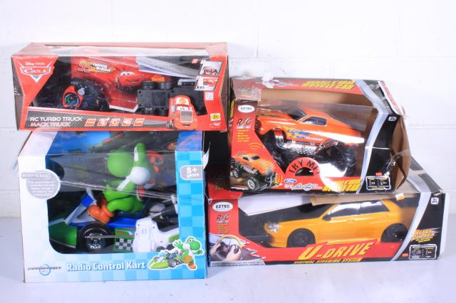Assorted R/C Cars - Lot of 4
