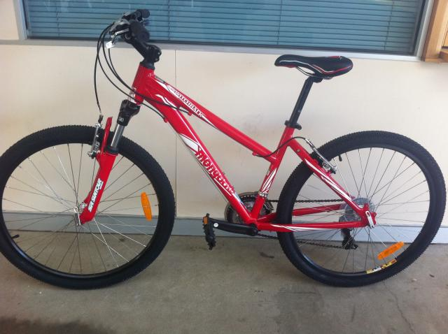 Red Mongoose Bike Mongoose Switchback Sport Red