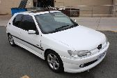 11/1997 Peugeot 306 GTI 6 Hatch Back White 2.0L