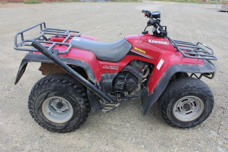 2006 Kawasaki KLF 300 Quad Bike - Lot 581096 | ALLBIDS