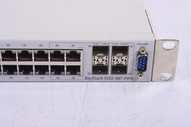 Nortel BayStack 5520 48T PWR 48