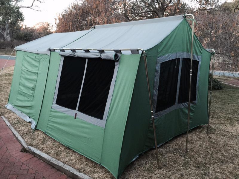 practical camper canvas tent instructions