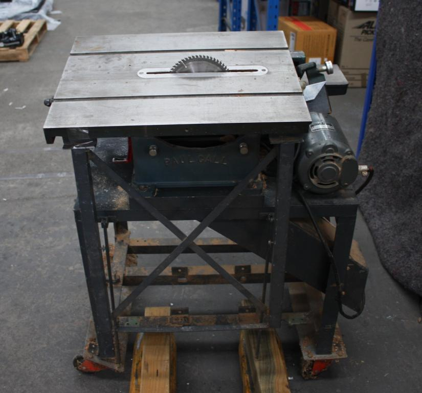Amex Car Buying >> Combination Table Saw/ Planer - Lot 738224   ALLBIDS