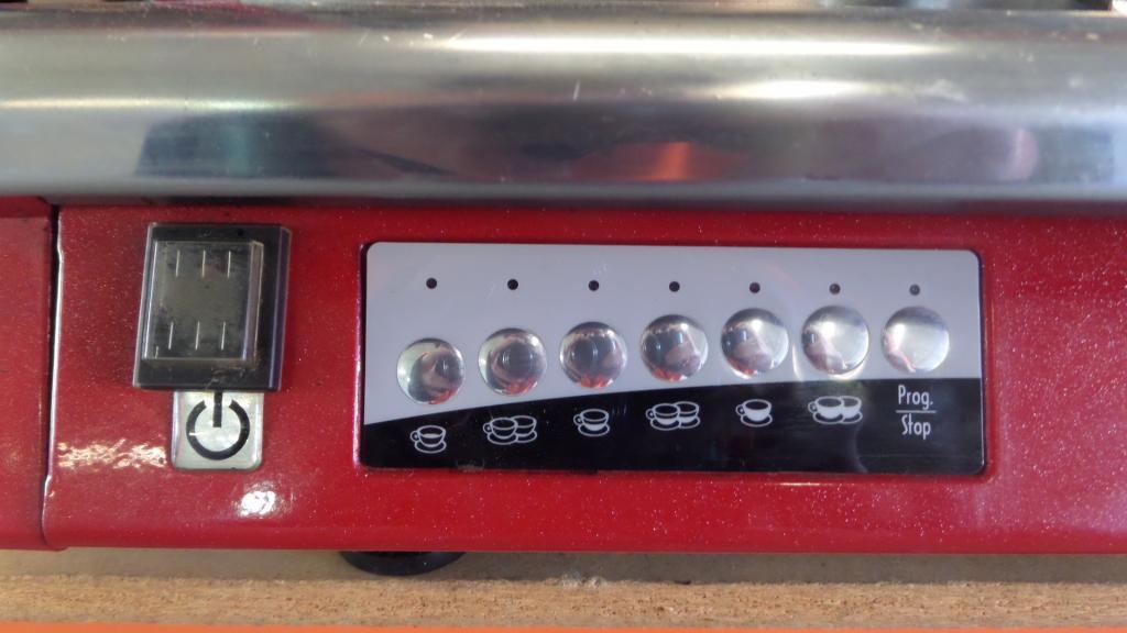espresso machine auction