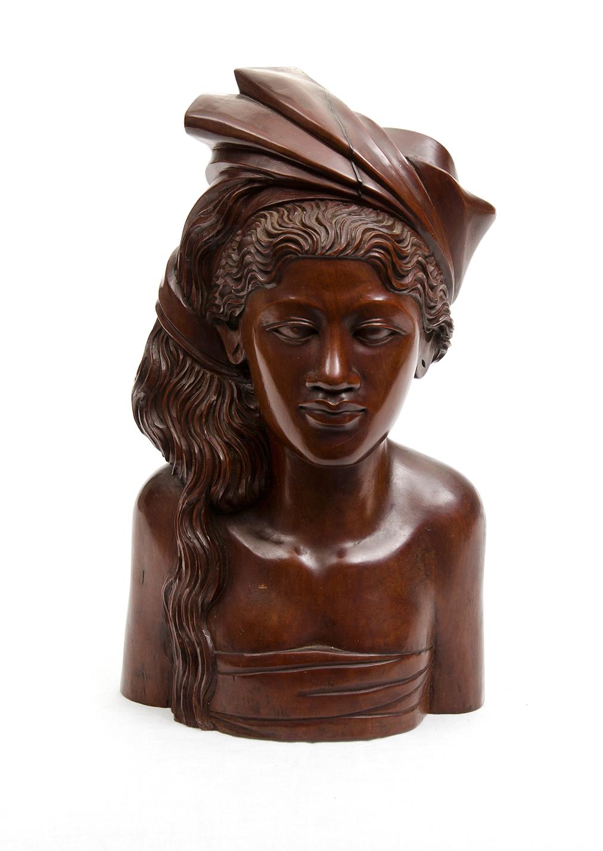 Bali Carved Wood Figure Lot 809766 Allbids