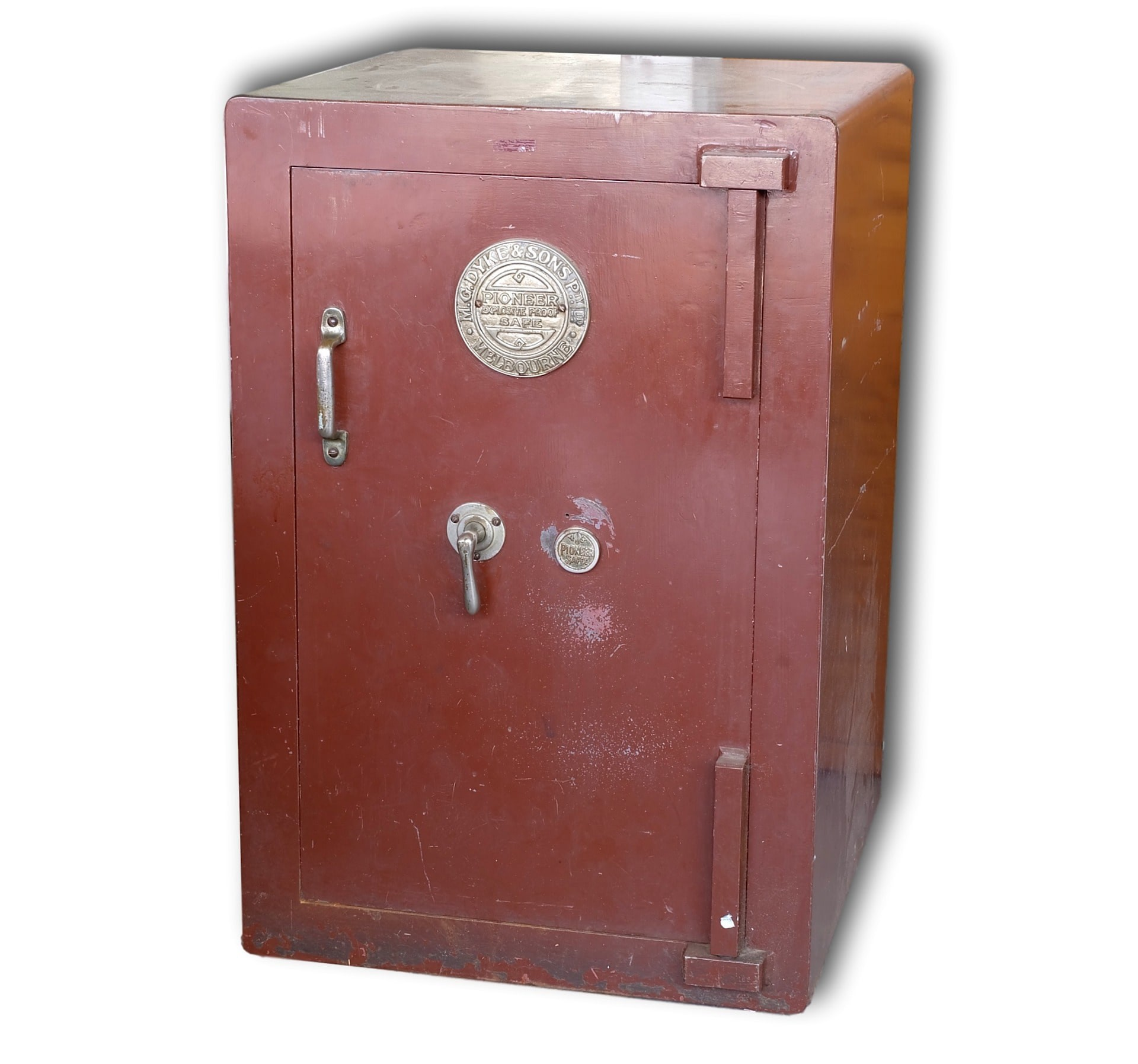 Antique MG Dyke and Sons Melbourne Explosive Proof Safe