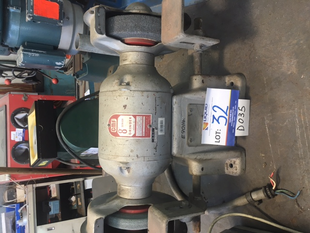 Gmf 8 Quot Senior Bench Grinder Lot 706300 Allbids