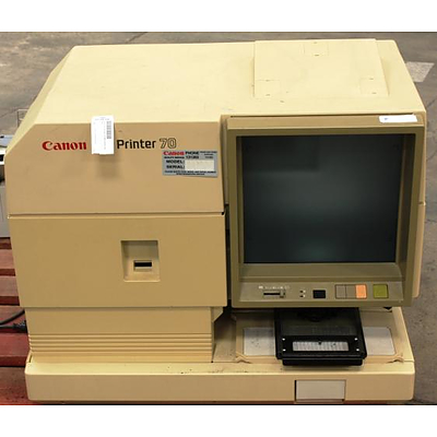 Amex Car Buying >> Canon PC Printer 70 Microfiche - Lot 556788   ALLBIDS