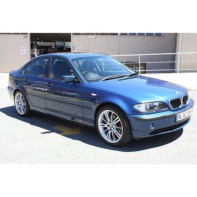 02 2003 bmw 318i e46 executive lot 578403 allbids. Black Bedroom Furniture Sets. Home Design Ideas