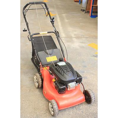 gardenline self propelled lawn mower manual
