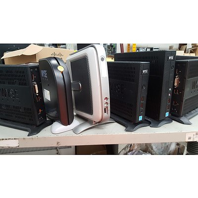 Lot of 17 Assorted WYSE Thin Client