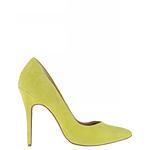 Designer Shoes - Atmos&here Diana Leather Pump Lemon Size 6 AU
