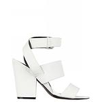 Designer Shoes - Spurr Mandy Block Heel White Size 5 AU