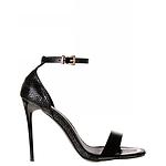 Designer Shoes - Spurr Vanessa Heel Black Snake Size 5 AU