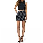 Oasis Polka Dot Marley Mini Skirt Size: 12 RRP $79.95