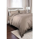 Royal Comfort 1200 Thread Count Queen 100% Egyptian Cotton Warm Grey Quilt Cover - RRP $249 - Brand New