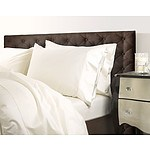 Royal Comfort 1000 Thread Count Single Ivory Quilt Cover Set - RRP $269 - Brand New