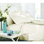 Royal Comfort Middleton Collection 1000 Thread Count Single Ivory Luxurious Egyptian Sheet Set - RRP $199 - Brand New