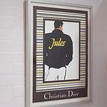 Framed Christian Dior Poster