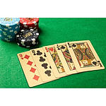 Gold Colour Poker Playing Cards - RRP $59 - Brand New