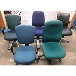 Various Visitor and Office Chairs - Lot of 19