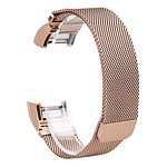 Charge 2 Rose Gold Milanese Loop Stainless Steel Compatible Replacement Band with 12 Month Warranty Included - Brand New