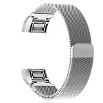 Charge 2 Silver Milanese Loop Stainless Steel Compatible Replacement Band with 12 Month Warranty Included - Brand New