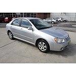 2/2005 Kia Cerato EX 4d Sedan Silver 2.0L