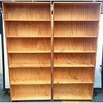 Timber Bookcase - Lot of 2