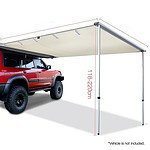 1.4m x 2m Car Side Awning Roof - RRP $289.95 - Brand New