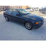 12/1998 Bmw 318i E36 4d Sedan Black 1.8L